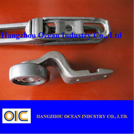 China Customized Drop Forged Rivetless Chain And Trolley Conveyor Parts supplier