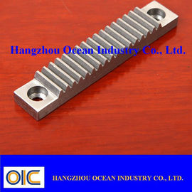 China M4 Steel Gear Rack With Low Noise / Smooth And Steady CNC Machined supplier