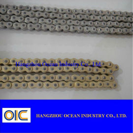China 40MN/A3 Copper Coating Motorcycle Chains With Extremely Durable Performance supplier
